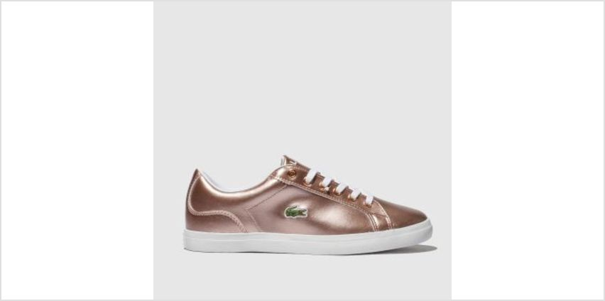 Lacoste Pink Lerond Girls Youth from Schuh
