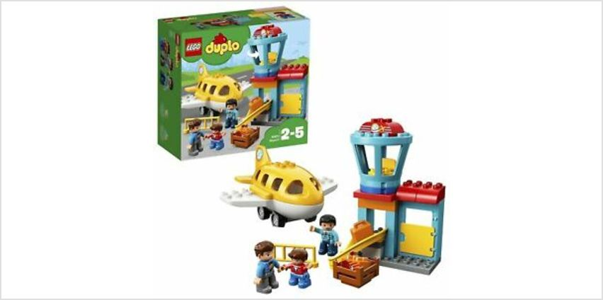 LEGO DUPLO My Town Airport Building Set with Airplane 10871 from ebay