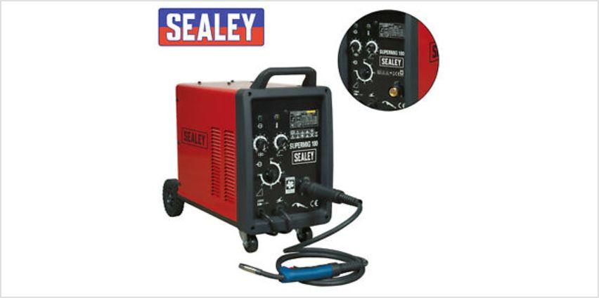 Sealey Professional MIG Welder 180Amp 230V with Binzel® Euro Torch SUPERMIG180 from ebay
