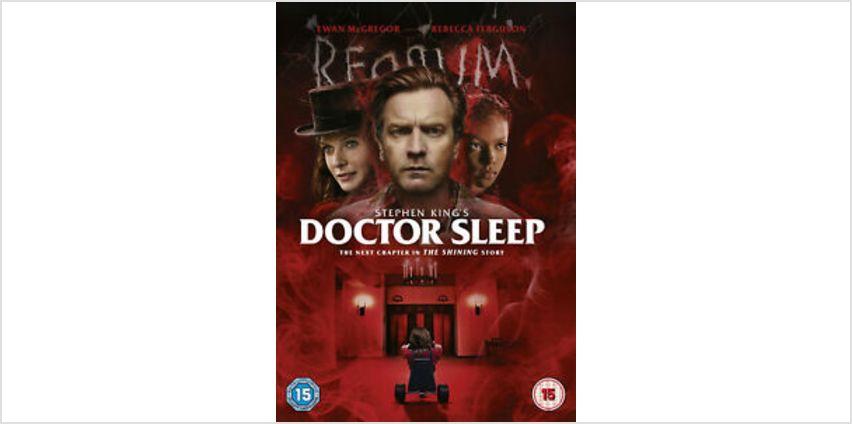 Stephen King's Doctor Sleep [2019] (DVD) Ewan McGregor, Rebecca Ferguson from ebay