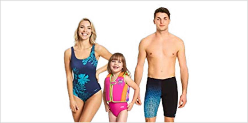 Up to 25% off Zoggs Swimwear from Amazon