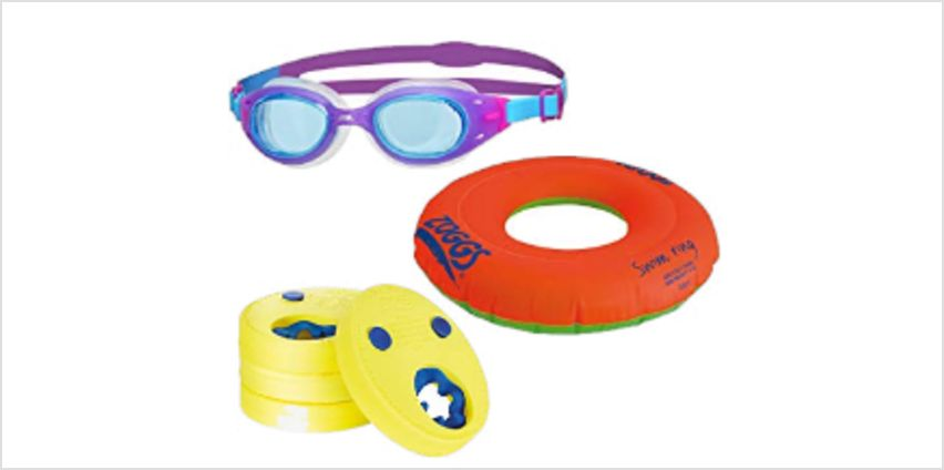 Up to 20% off selected Zoggs goggles, pool toys and more from Amazon