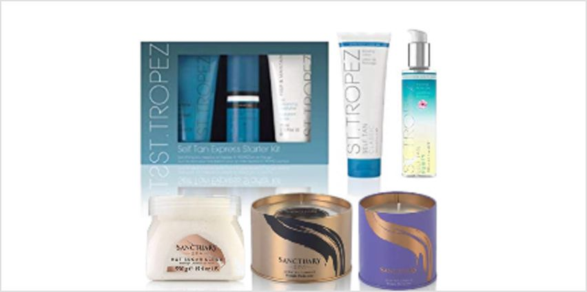 Save on Sanctuary Spa, Fudge Urban and St Tropez Best Sellers from Amazon