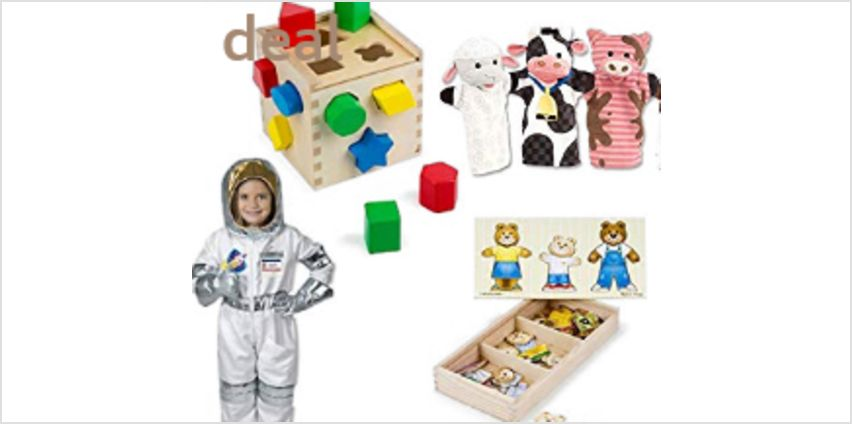 Up to 30% off Melissa and Doug wooden toys and pretend play from Amazon