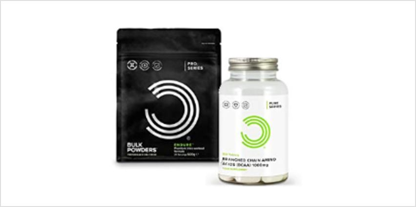 Up to 40% off Bulk Powders BCAA from Amazon