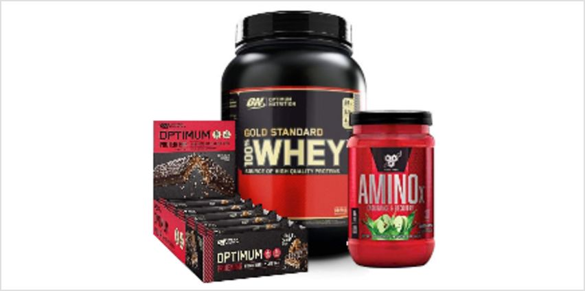 Up to 50% off Optimum Nutrition, BSN &  more from Amazon