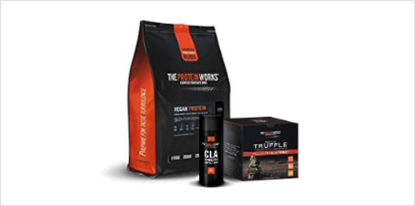 Up to 54% off The Protein Works range from Amazon