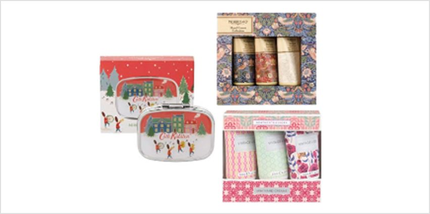 Up to 20% off on Cath Kidston, Morris & Co, Vintage & Co Gifting from Amazon