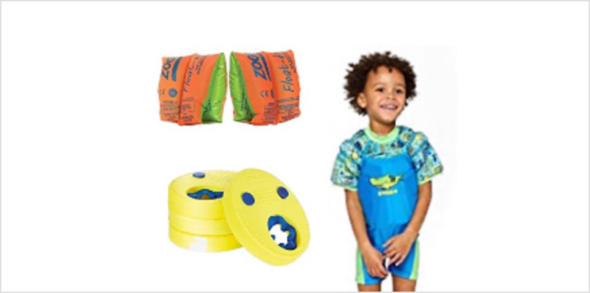 Up to 35% off Zoggs Float Discs, Swim Bands and more from Amazon