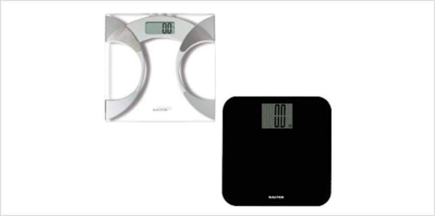 Up to 50% Off Salter Ultra Slim Analyser Bathroom Scales and more from Amazon