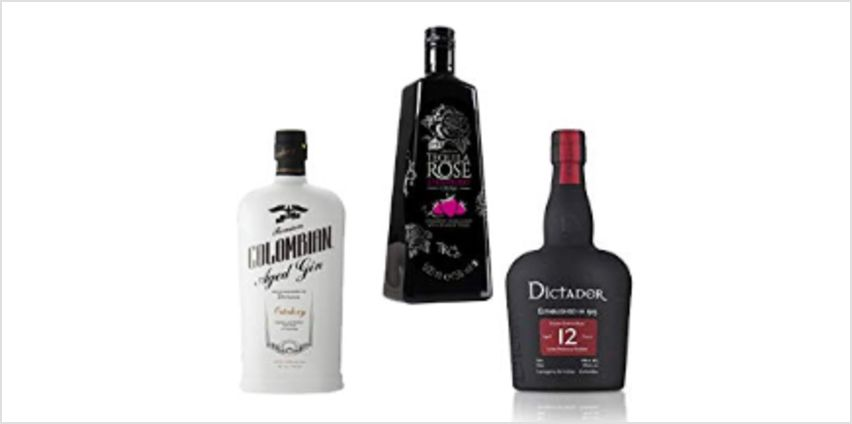 25% off Spirits Tequila Rose, Dictador and more from Amazon