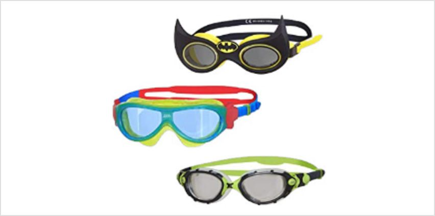 Up to 35% off Zoggs goggles from Amazon