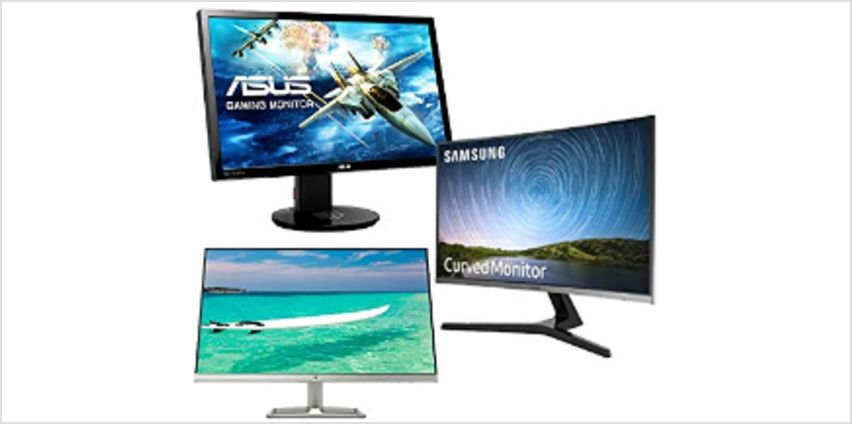 20% off PC Monitors from Asus, Dell, Samsung and more from Amazon