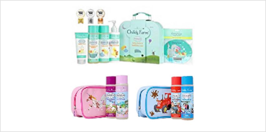 Up to 40% off Childs Farm Giftsets from Amazon