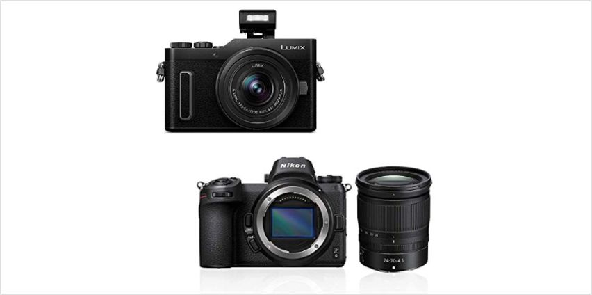 Up to 35% off Cameras and Lenses from Nikon from Amazon
