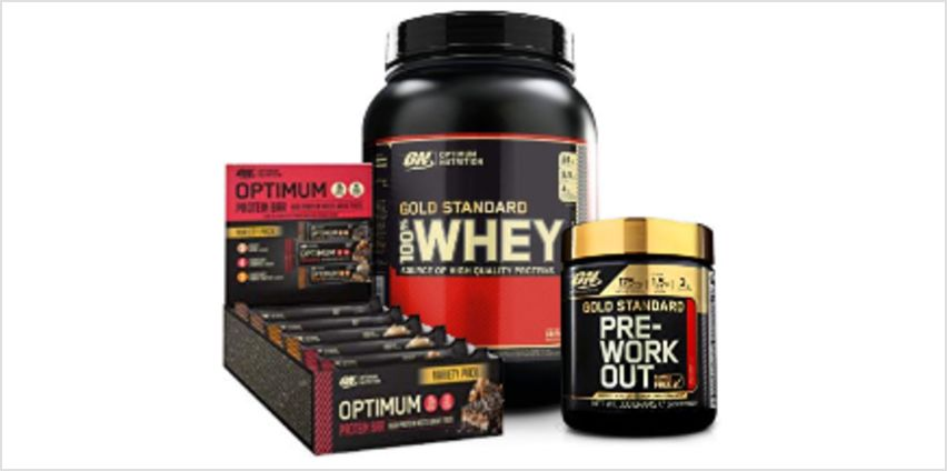 Up to 50% off Optimum Nutrition from Amazon