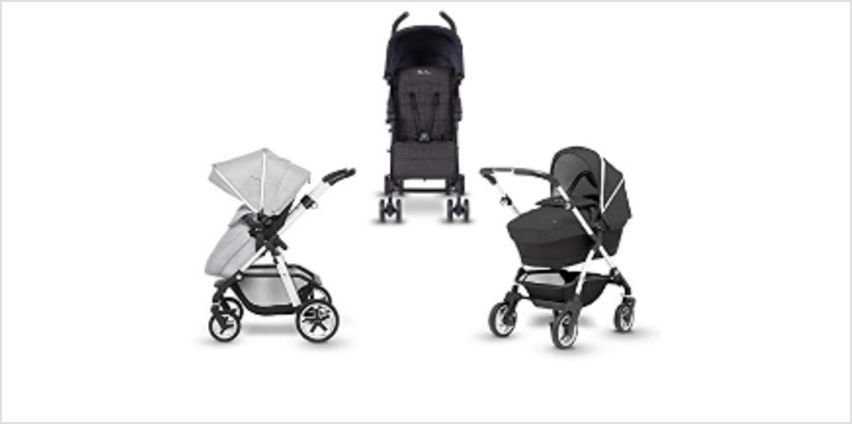 Up to 25% off Silver Cross prams and travel systems from Amazon
