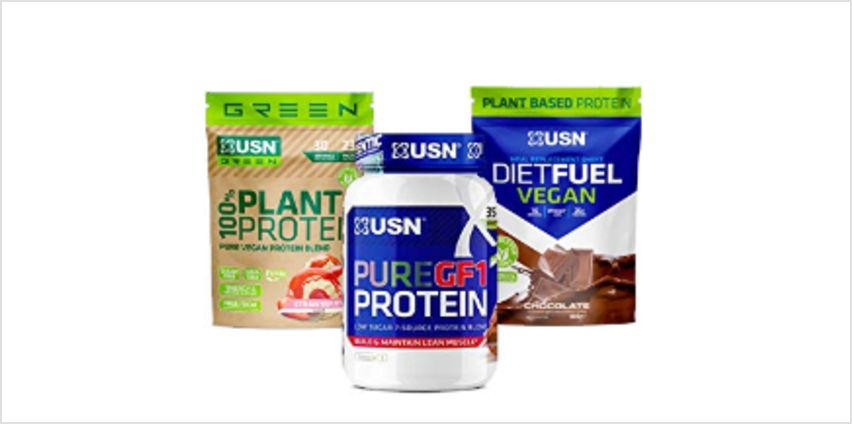 Up to 39% off USN range from Amazon