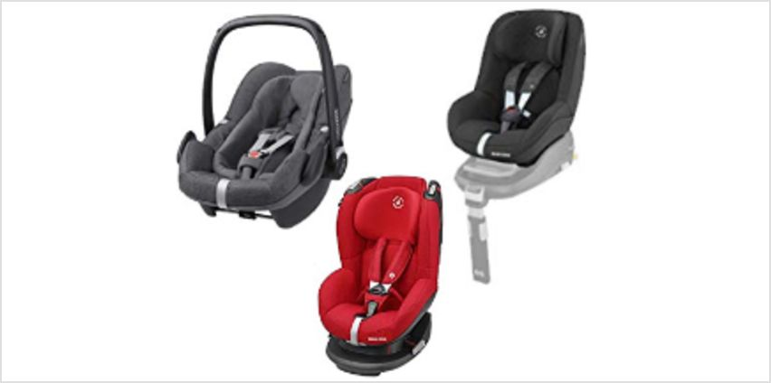 Up to 40% on Maxi-Cosi Car Seats from Amazon