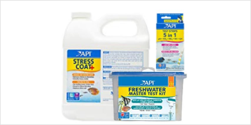 Save on API 800 Test Freshwater Aquarium Water Master Test Kit and more from Amazon