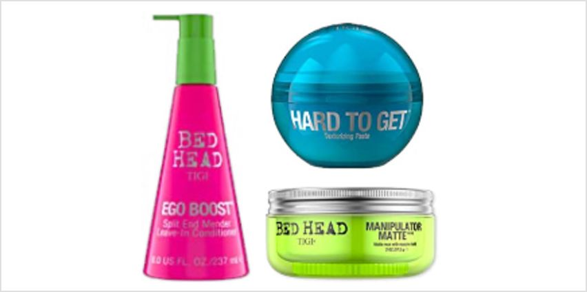 Up to 50% off BED HEAD & CATWALK by TIGI from Amazon