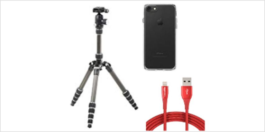Up to 20% on Smartphone and Camera accessories from AmazonBasics from Amazon