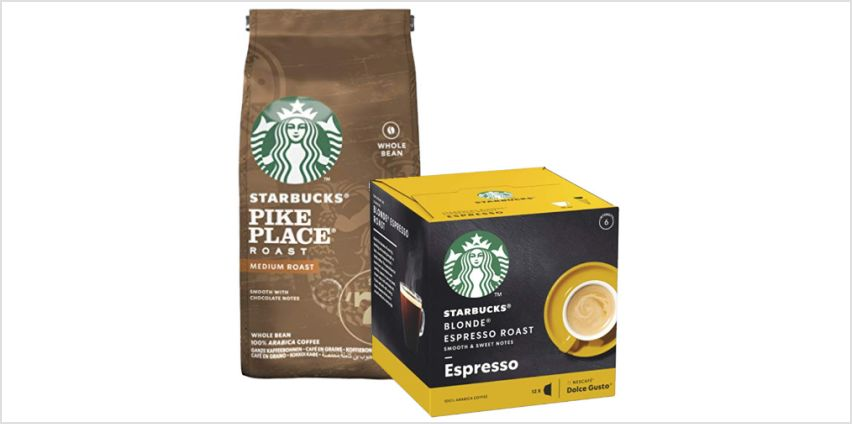 Up to -25%: Starbucks Coffee from Amazon