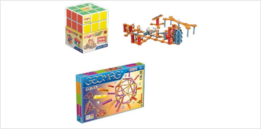 Up to 30% on Geomag Toys from Amazon