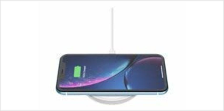 Save on Belkin Boost Up Wireless Charging Pad 10 W, Fast Qi Wireless Charger for iPhone 11, 11 Pro/Pro Max, XS/XS Max, XR, X, Samsung Galaxy S10, S10+, S10e, Huawei P30, P30 Pro, UK Plug Not Included, White and more from Amazon