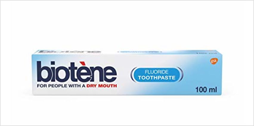 15% off Biotene and Sensodyne selected products from Amazon