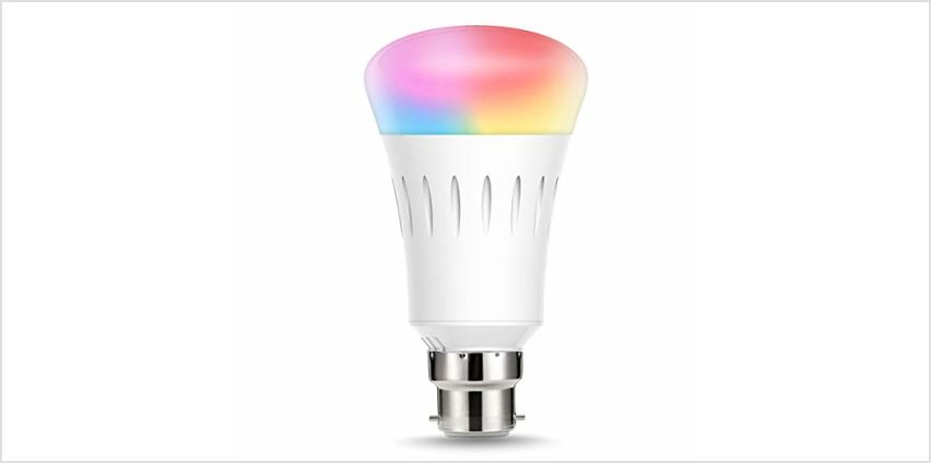 LOHAS Alexa Smart LED WiFi Bulb, 10W R95 B22 Colour Changing Bulb, Works with Amazon Alexa, Google Home & IFTTT, 80W Equivalent, Emit Tuneable White Lights, Remote Controlled by Smartphone, 1 Pack from Amazon
