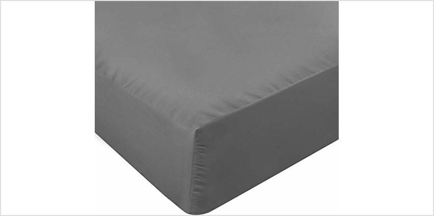 Utopia Bedding Fitted Sheet - Deep Pocket - Brushed Microfibre - from Amazon