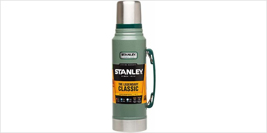 Save on Stanley Classic Legendary Vacuum Bottle - 1 L, Green and more from Amazon