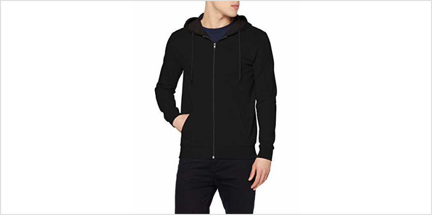 Save on FM London Men's HyFresh Zipped Hoodie, (Black 01), Small (Size:S) and more from Amazon