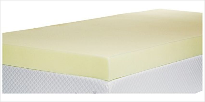 15% off on Southern Foam Mattress Toppers from Amazon