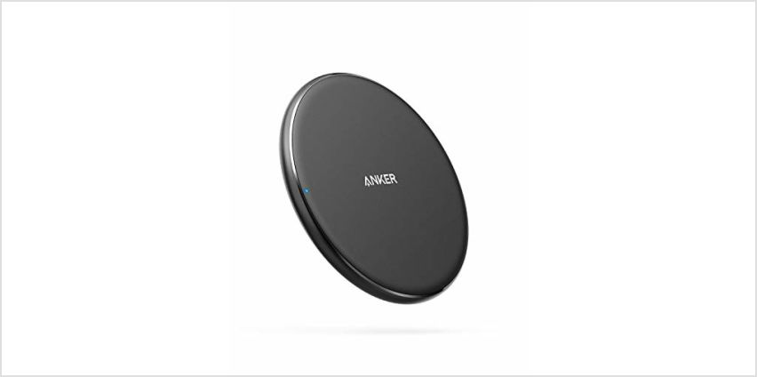 Anker Wireless Charger, PowerWave Pad Upgraded 10W Max from Amazon