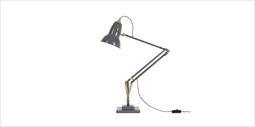 Anglepoise Original 1227 Brass Desk Lamp from Amazon