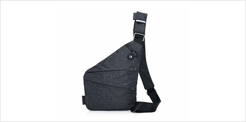 Ovecat Sling Bag Crossbody Shoulder Chest Back Pack Anti Theft Sash Bags for Men Women from Amazon