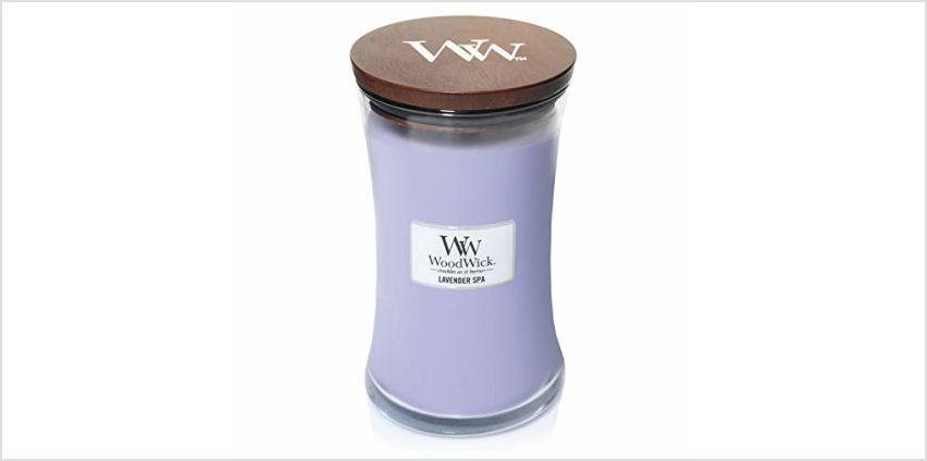 15% off WoodWick Large Hourglass Scented Candles from Amazon