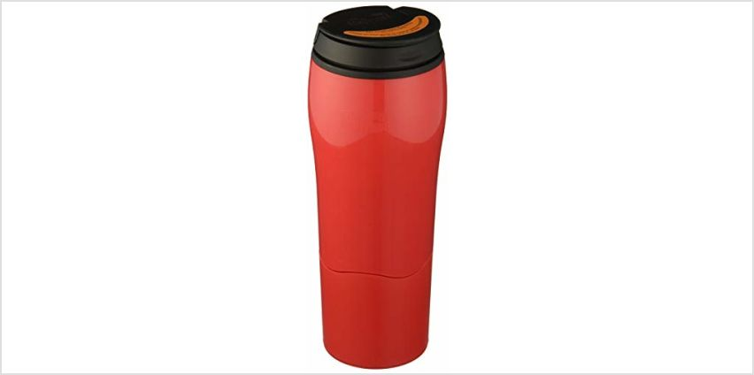 Save on Mighty Mug Go - The Travel Mug That Won't Fall Over (0.47 Litre), Red and more from Amazon