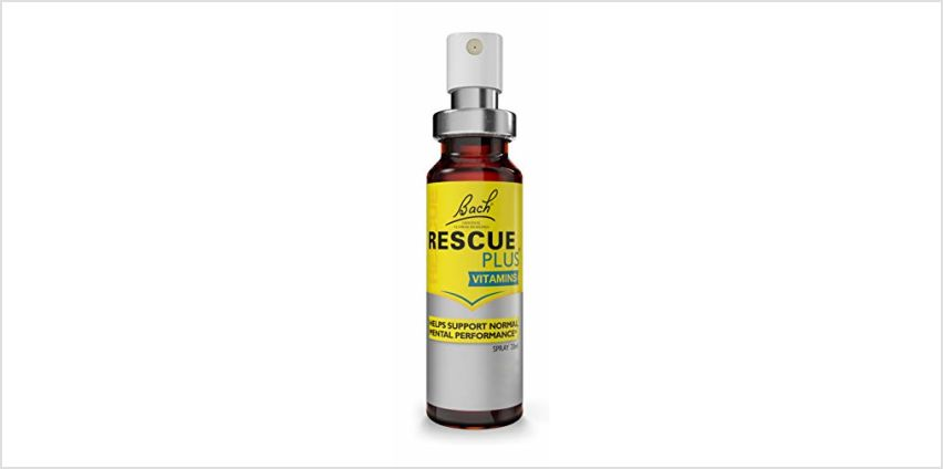 Up to 35% off Bach RESCUE selected products from Amazon