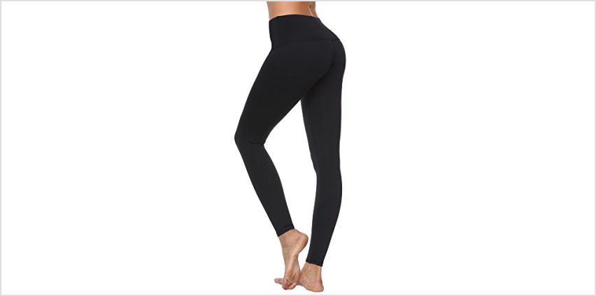 Women's Yoga Pants with High Waist Tummy Control Workout Running Stretching Yoga Leggings from Amazon