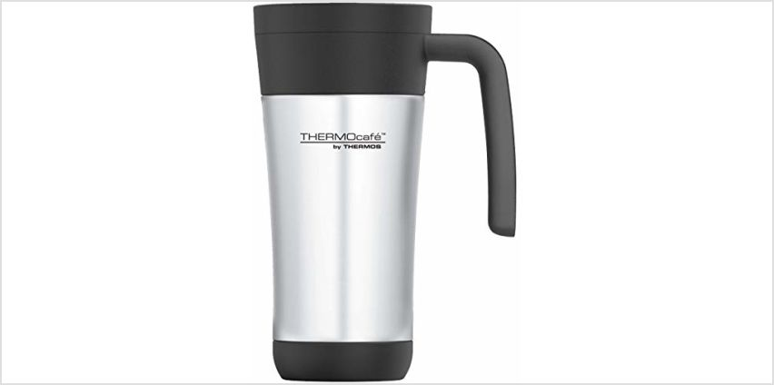 Thermo Cafe Travel mug, Stainless Steel/Plastic, 425ml from Amazon