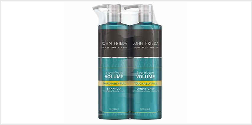 Up to 33% off John Frieda from Amazon