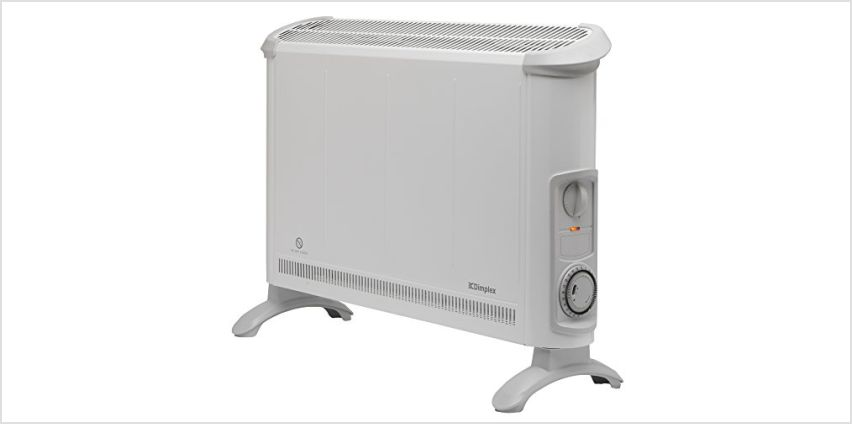 Up to 20% off Glen Dimplex Heaters & Radiators from Amazon
