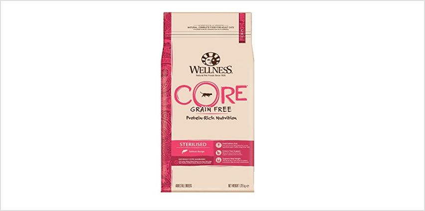 20% Off Wellness Core Cat Food from Amazon