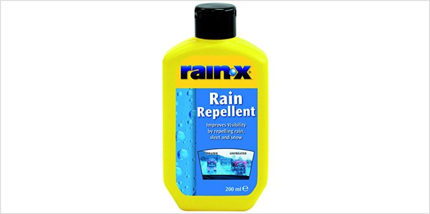 Save on Rain-X Rain/Water Repellent Glass Treatment, 200ml, 80199200 and more from Amazon