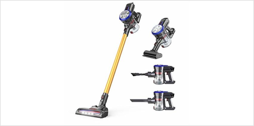 Cordless Vacuum Cleaner by dibea from Amazon