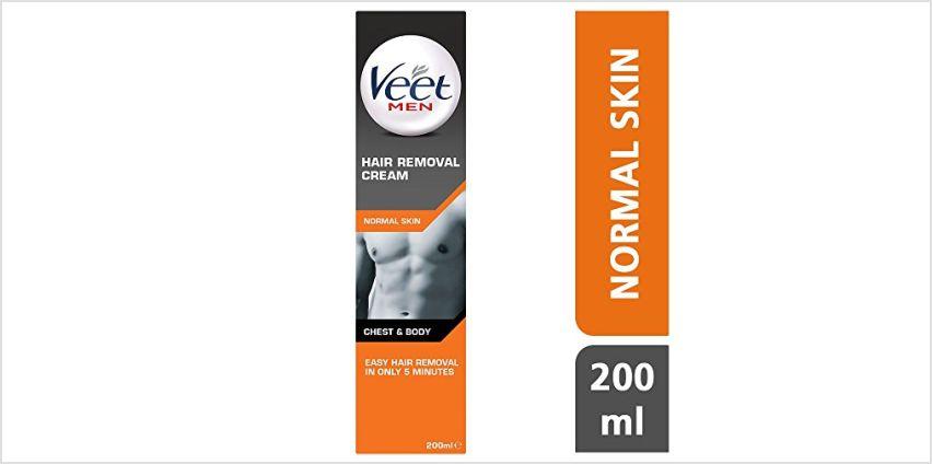 Veet Men Hair Removal Cream, 200 ml from Amazon