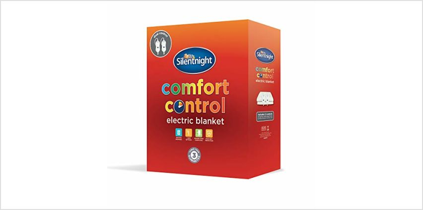 15% off Silentnight Electric Blankets, Duvets and Pillows from Amazon